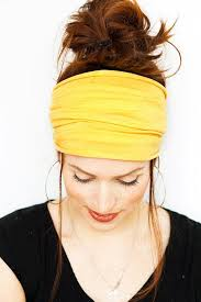 yellow headband 117 best headbands images on headband wide