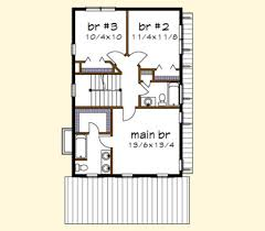 Floor Plan Abbreviations by Traditional Style House Plan 3 Beds 2 50 Baths 1435 Sq Ft Plan