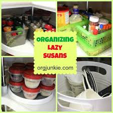 how to organize a lazy susan cabinet organizing lazy susans