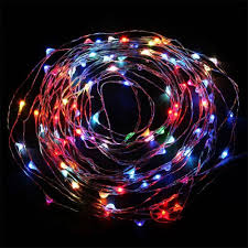Halloween Fairy Lights by 20ft Fairy Led Wire String Lights Starry Twinkle Lights Torchstar