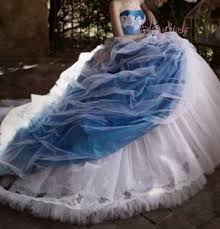 robe de mari e bleue robe de mariée bleu et blanche boutique robe d ange wifeo