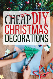 cheap u0026 easy diy christmas decorations the busy budgeter