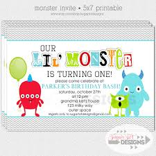 monster birthday party invitations u2013 gangcraft net