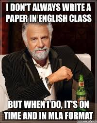 Memes About English Class - don t always write a paper in english class