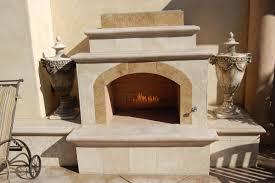 mediterranean custom fireplace design in orange county california