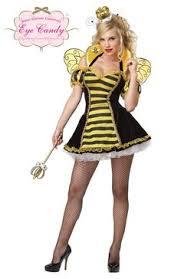 Bee Halloween Costume Bee Costumes Women Queen Royal Honey Bumble Bee