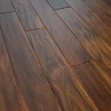 china foshan low price handscraped acacia walnut hardwood flooring