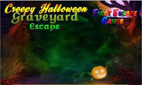 creepy halloween graveyard escape first escape games youtube