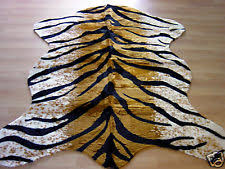 faux animal skin rugs ebay