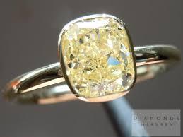 light diamond rings images Yellow diamond canary diamond bezel diamond ring jpg