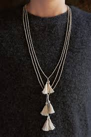 beaded tassel necklace images Beads tassels necklaces purl soho jpg