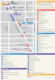 Metro La Map Map Public Transportation U0026 Parking U2013 Lit Crawl L A
