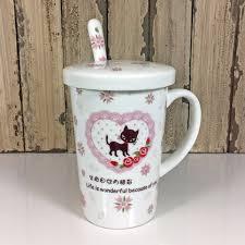 ceramic animal mug