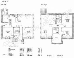 plan de maison 120m2 4 chambres chambre luxury plan maison plain pied 120m2 4 chambres plan