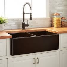 double bowl farmhouse sink with backsplash 39 optimum double bowl stainless steel farmhouse sink curved