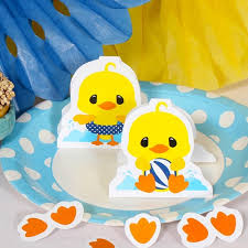 Rubber Ducky Baby Shower Decorations