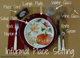 thanksgiving countdown day 5 table setting printable place