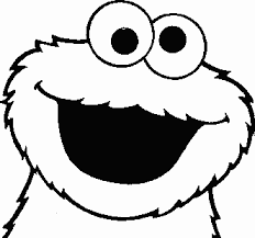 cookie monster printable coloring pages google u0027re