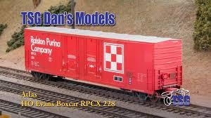 box car ho scale custom box car dan u0027s models youtube