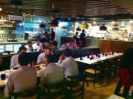 pizzaexpress restaurant ambience mall vasant kunj new delhi
