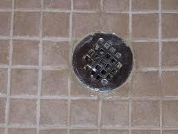 Installing Basement Shower Drain by How To Caulk A Shower Drain Ehow