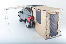 Iron Man Awning Savannah 2 5m X 2m 4wd Side Rear Awning 4x4 320gram Ripstop Canvas