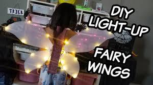 light up fairy wings diy light up fairy wing led angel wing tutorial fairy halloween