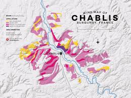 Map Of Burgundy France by Get To Know Chablis Wine And Region Wine Folly