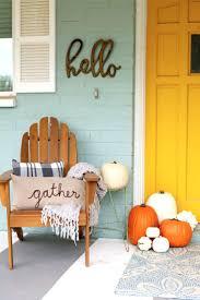 Autumn Decorations Home Christmas Decor Front Door Ideas Pinterest Fall Porches Porch Home