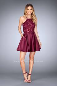 la femme short cocktail dresses french novelty