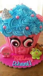 Easy Giant Cupcake Decorating Ideas Cupcake Queen Shopkins Cake Cake By Cakes Rock Party Ideas