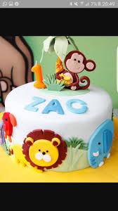 28 best zac birthday cake images on pinterest safari cakes