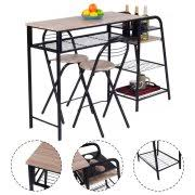 zipcode design lucai 36 pub table counter height dining sets