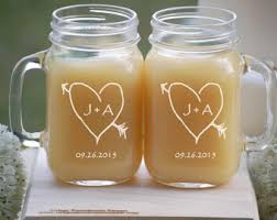 his and hers wedding gifts personalized wedding gift mr and mrs jar mugs