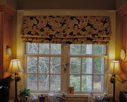 Mock Roman Shade Valance - imparting grace window treatment secrets