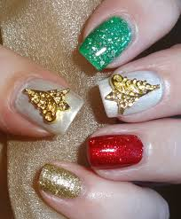 wendy u0027s delights gold christmas tree nail charms from charlies
