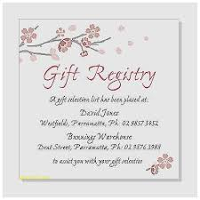 wedding registry invitation ba shower invitation new ba shower gift registry invitation baby