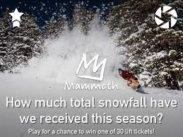 win free mammoth mountain lift tickets newschoolers