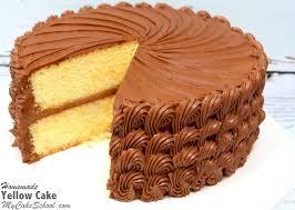 yellow cake a scratch recipe my cake