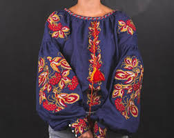 blouse for embroidery etsy