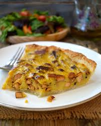 Quiche Blind Bake Or Not Vegan Quiche Lorraine Cilantro And Citronella