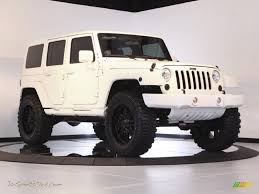 white jeep black rims lifted jeep wrangler unlimited sahara black image 218