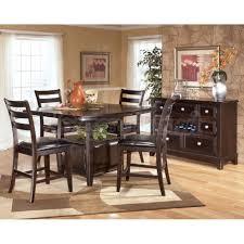 Ashley Kitchen Furniture by Ashley Furniture Dining Table Bench Sofa Dark Rustic Kitchen