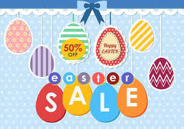 easter eggs sale easter egg sale tag free vector stock graphics