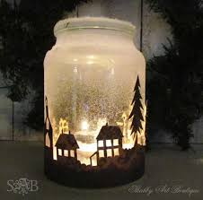 jar candle ideas christmas township candle jar useful ideas