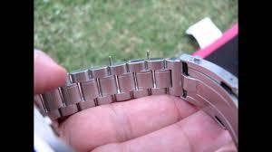 omega bracelet links images Fitting removing links from an omega speedmaster seamaster jpg