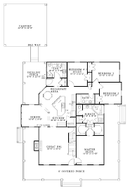 one or two story craftsman house plan country farmhouse plans 2