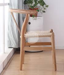 hans wegner wishbone chair replica ash cord furniture