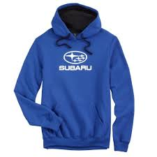 genuine subaru hooded sweatshirt pullover hoodie royal size