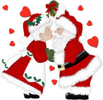 animated santa animated gif of santa claus and mrs claus and free images gifmania